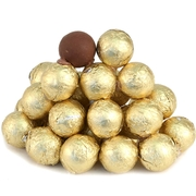 Foiled Milk Chocolate Balls