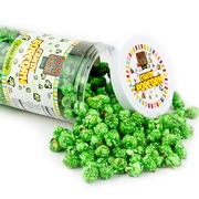 Green Caramel Popcorn - Green Apple