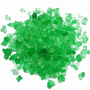 Dark Green Rock Candy Crystals - Lime