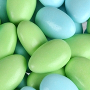 Light Blue & Light Green Jordan Almonds