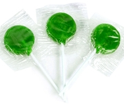 Green Lollipops - Green Apple