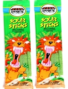 1.75 oz Sour Sticks - Green Apple - 3-Pack