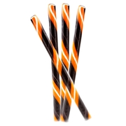 Halloween Orange Candy Sticks