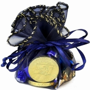 Hanukkah Organza Favor Bag