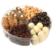 6-Section Premium Chocolate & Nut Tray