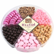Baby Girl 6-Section Gift Tray