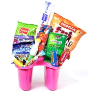 Sundries Organizer Camp Gift Basket
