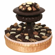 Dark Chocolate Vase Gift Basket