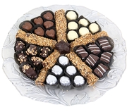 Decorative Glass Chocolate Gift Tray