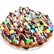 Chocolate Pretzel Pie W/Rainbow Lentils