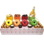 Rosh Hashana 4 Apple Ceramic Jars