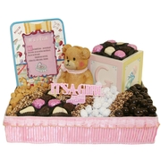 Baby Girl Gift Basket - Large
