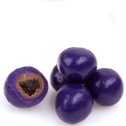 Purple Milk Chocolate Covered Blueberries