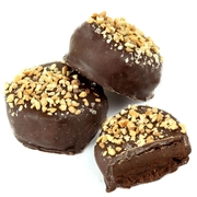 Passover Chocolate Fudge Crunch Balls