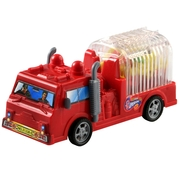 Fire Truck Candy Toy - 12PK