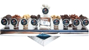 Chanukah Menorah Chocolate Gift (Israel Only)
