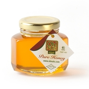 Large Hexagon Honey Bottle