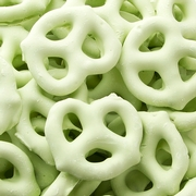 Light Green Yogurt Pretzels - Key Lime