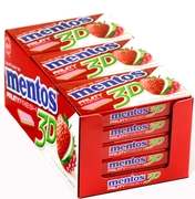 Mentos 3D Sugar Free Gum - Fruity Fresh 2 (15CT Box)