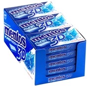 Mentos 3D Sugar Free Gum - Pure Fresh (15CT Box)