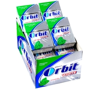 Orbit White Spearmint Gum Pellets Case