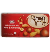 Passover Elite Milk Chocolate with Nuts & Almonds - 12PK