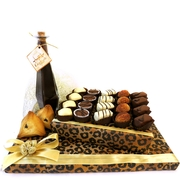 Milk Chocolate Leopard Platter (Israel Only)