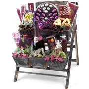 Mulberry Flower Stand - Purim Basket