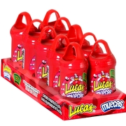 Muecas Cherry Lollipop with Chili Powder - 10CT Box