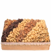 Nut Line-Up Gift Basket