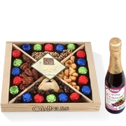 Purim Oh! Nuts Wooden Gift Tray