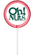 Pink Oh! Nuts Lollipop