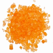 Orange Rock Candy Crystals - Orange