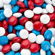 Patriotic M&M's Chocolate Candy
