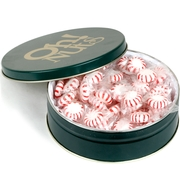 Holiday Mint Candy Gift Tin