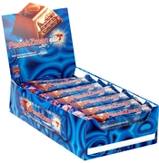Pesek-Zman Big Bite Milk Chocolate Bar - 18PK