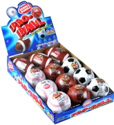 Dubble Bubble Gum Sports Pro Balls - 12CT Box