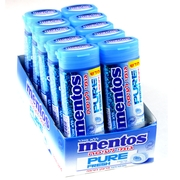 Mentos Pure Fresh Mint Gum - 10CT Box