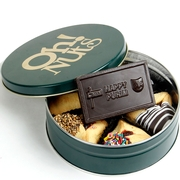 Chocolate Hamantash & Purim Card Gift Tin