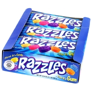 Original Razzles Candy Gum - 24CT Case