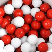 Red & White Sixlets