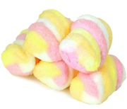 Colorful Twisted Marshmallows