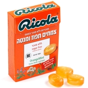 Ricola Sugar Free Orange Mint Candy Lozenges