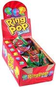 Twisted Candy Ring Pops - 24CT Box