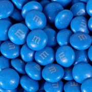 Royal Blue M&M's Chocolate Candy