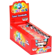 Eggheads Sour Eggs Bubble Gum - 24CT Box