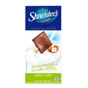 Shneider Milk Chocolate Bar With Hazelnuts