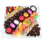 Passover Candy Glass Gift Tray