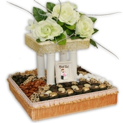 Medium Chocolate Chuppah Basket