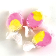Pink & Yellow Salt Water Taffy - Strawbe